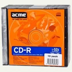 CD-R 700MB 52x 10db Vékony tok