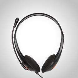 HM-01 Mikrofonos fejhallgató