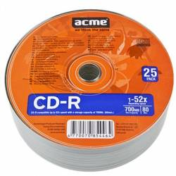 CD-R 700MB 52x 25db/zsugorfólia