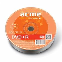 DVD+R 4,7GB 16x 10db/henger