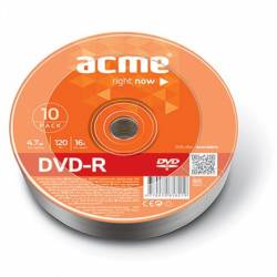 DVD-R 4,7GB 16x 10db/zsugorfólia