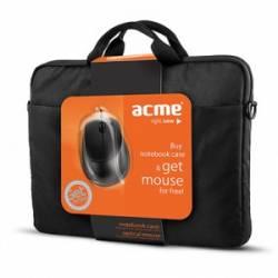 """ACME 16M37 Notebook táska 16""""+ajándék egér,fekete"""