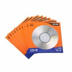 CD-R 700MB 52x 10db Papír tok