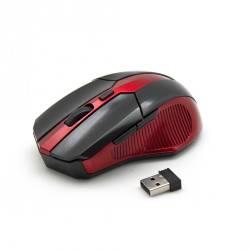 Sbox WM-9017BR Vezeték nélküli egér,fekete/piros