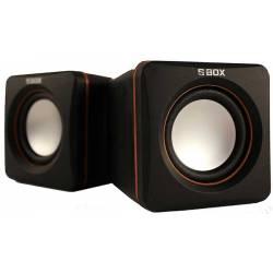 Sbox SP-02 2.0 hangszóró,6W