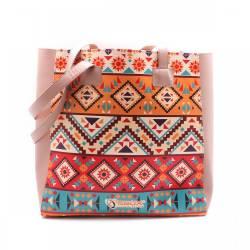 """Sbox Prága NBA-0097 női notebook táska 14,1"""",mozaik"""