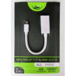 Smart Lime CA81 Mini Display Port-HDMI adapter 20cm
