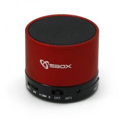Sbox BT-160R Bluetooth hangszóró,piros
