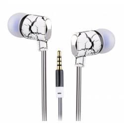Sbox EP-813W mikrofonos fülhallgató szilikon véggel,fehér