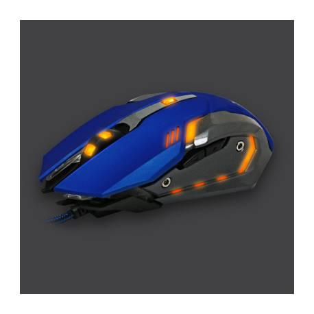 White Shark GM-1604 CAESAR gaming egér,kék, 4800dpi