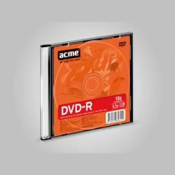 DVD-R 4,7GB 16x Vékony tok