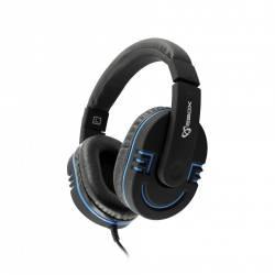 Sbox HS-401BBL Mikrofonos gamer fejhallgató,kék