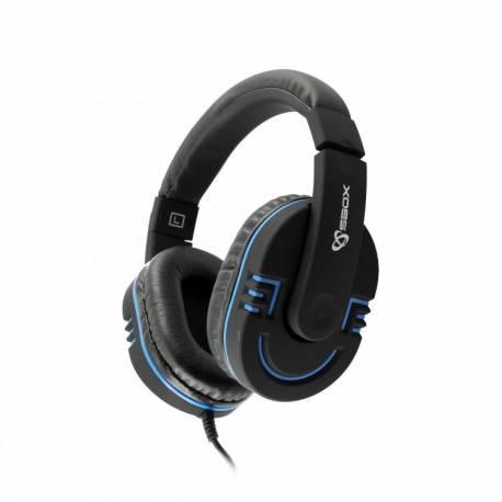 Sbox HS-401BBL Mikrofonos gamer fejhallgató 0923dc5afb