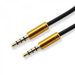 SBOX 3535-1,5B Audio színes összekötő kábel,1.5m,fekete