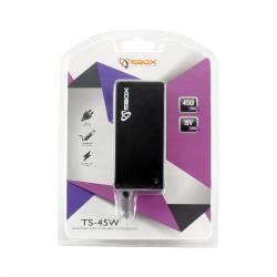 Sbox TS-45W Toshiba notebook töltő 45W