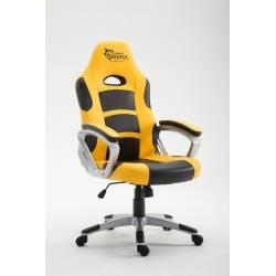 White Shark SPEED MASTER Gamer szék,sárga/fekete