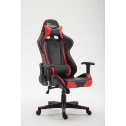 White Shark ROAD KILLER Gamer szék,piros/fekete