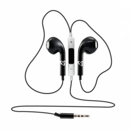 Sbox IEP-204B mikrofonos fülhallgató,fekete