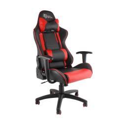 White Shark TRACER Gamer szék,fekete/piros