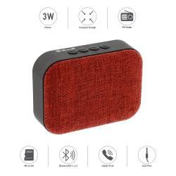 TELLUR CALLISTO-R 3W Bluetooth Hangszóró TLL161041, piros