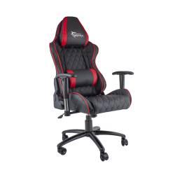 White Shark PRO RACER Gamer szék, fekete/piros