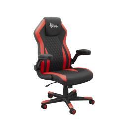 White Sahrk DERVISH K-8879 B/R Gamer szék, fekete/piros