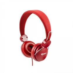 Sbox HS-736R fejhallgató, piros