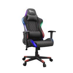 White Shark THUNDERBOLT világító gamer szék, fekete, RGB