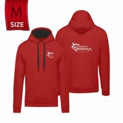 """White Shark kapucnis póló piros """"M"""" (felnőtt)"""