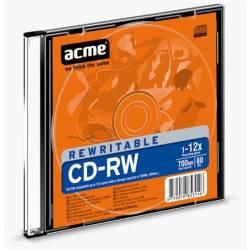 CD-RW 700MB 12x Vékony tok