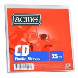 CD/DVD Papírtok, ablakos, 25db